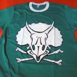 Spreadshirt dino skull print