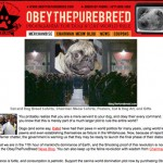 Obey the Purebreed and niche marketing