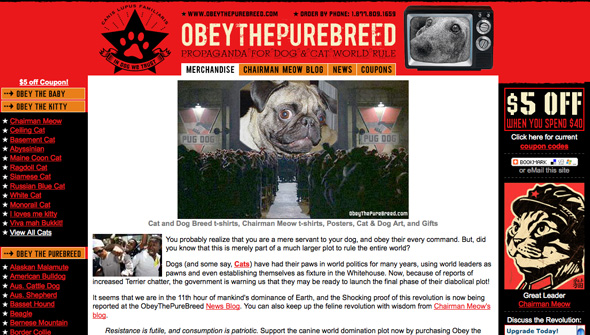 Obey the Purebreed and niche marketing | Point Click Apparel