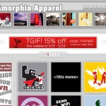 Amorphia Apparel on sharply focused shops